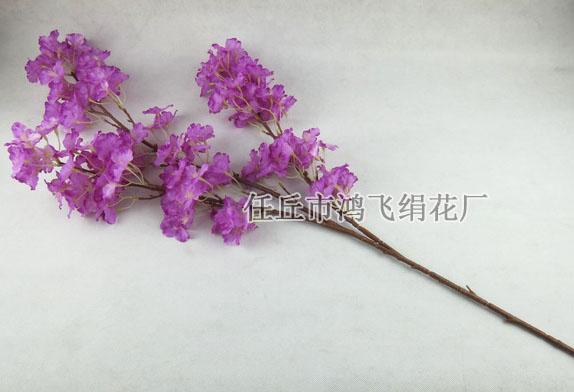 仿真樱花树枝,迎春花枝,桃花枝,人造樱花树枝,仿真花,绢花,园林装饰树