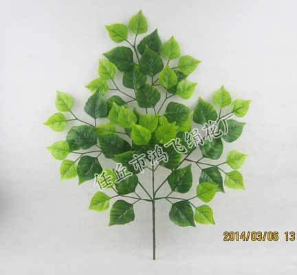 仿真桦树叶,绿桦树叶,彩桦树叶,枫树叶,苹果叶,榕树叶